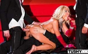 Sexo porno vidio loira na suruba gostosa