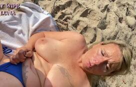 Filme de pornô vídeo loira boa transando na praia