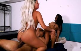 Mulheres nuas brasileiras gostosas fodendo com o marmanjo safado